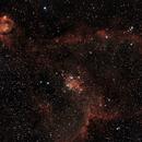 Nébuleuse du Coeur IC1805 - ED80,                                Laurent