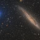 Xi and NGC 4945 - Galaxy in Centaurus,                                Martin Junius
