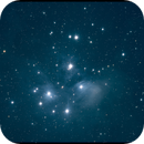 Pleiades and Merope nebula,                                Boommutt
