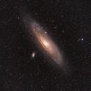 Andromeda Galaxy - M31,                                Chris Parfett @astro_addiction