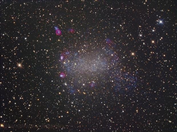 Barnard's Galaxy NGC 6822,                                Stefan Westphal