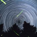 CAO Star Trails and Fireflies,                                SmackAstro