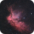 NGC 7380, Wizard Nebula,                                Kathy Walker