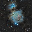 M42 & The running man nebula reloaded,                                beta63