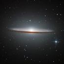 Sombrero Galaxy minus Cosmic Dust,                                KuriousGeorge