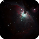 Orion Nebula M42,                                Dylan Woodbrey