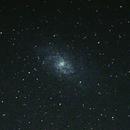 Accidental M33, 68s no tracking,                                Lukas Šalkauskas