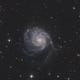 M101 with skywatcher 200/1000,                                tonioche