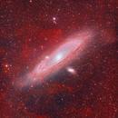 The clouds of Andromeda,                                Sendhil Chinnasamy