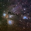 Angel Nebula in Monoceros,                                Jeff