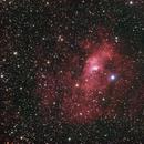 Bubble Nebula - LRGB,                                Eric Walden