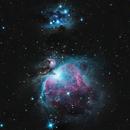Orion & Running Man Nebula,                                Tyler Black