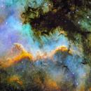Cygnus Wall - NGC7000 portion with LDN935,                                Alberto Vezzani