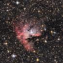 NGC281 Pacman Nebula,                                Andrea Pistocchini - pisto92