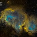 La nébuleuse de l'âme (Soul nebula) IC 1848,                                JLastro