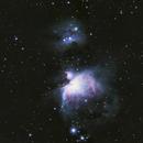 M42 Orion Nebula and M43 Running Man Nebula,                                Monkeybird747