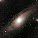 M31 Andromeda galaxy,                                Thorsten - DJ6ET