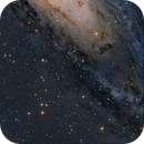 M31 (partial) First LRGB  Image as Opposed to RGB,                                Seymore Stars
