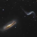 Hickson 44 - NGC 3187 and NGC 3190,                                Matthew