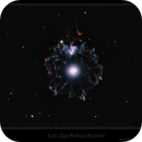 Cat's Eye Nebula Bicolor WIP,                                Josh Smith