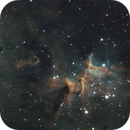 "Melotte 15 in The Heart Nebula - ""The Serpents Sail"",                                Ara"