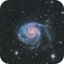 Messier 101- Pinwheel Galaxy,                                Alejandro López