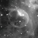 Bubble Nebula in HA,                                Pyrasanth