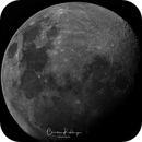 First Moon with ASI 290MC,                                Christian Kussberger