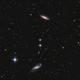NGC 4527, 4533, 4536, IC3474 in Virgo LRGB,                                Alex Iezkhoff