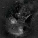 IC 405 Area, Ha,                                Stephen Garretson