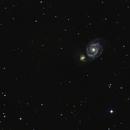 M51, Whirpool Galaxy,                                floreone