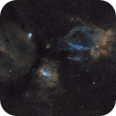 Bubble and Lobster claw nebula,                                Petar_Babic