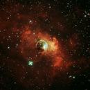 NGC 7635 Bubble Nebula,                                John Burns
