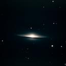Sombrero Galaxy - Messier M104,                                Bruce Rohrlach