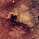 NGC 7000, IC 5070 Area [Ha + OSC],                                Stephen Garretson