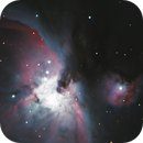 M42 Great Orion Nebula,                                Larry