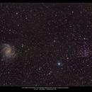 NGC 6946 & NGC 6939,                                Mark L Mitchell