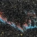 Eastern Veil Nebula,                                Ray Blais