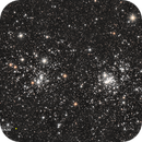 Double amas de Persée (NGC 884 et NGC 869) - Sadr Espagne,                                Julien Bourdette