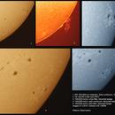 Solar activity 21.4.2014,                                Rauno Päivinen