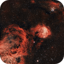 NGC3324 - Gabriela Mistral Nebula,                                Cluster One Observatory
