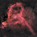 ic1805/1848(Heart and Soul nebula) HaR_GB,                                *philippe Gilberton