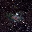 Eagle Nebula M16,                                Jeff Clayton