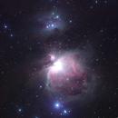 M42  the Orion Nebula  & M43  De Mairan's Nebula - HaRGB,                                Sigga