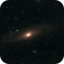 M31 with some clouds,                                Paolo Manicardi