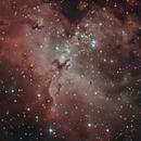 M 16 Eagle Nebula - Pillars of Creation,                                herwig_p