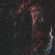 Cygnus loop / Veil complex - 2 panel mosaic,                                  Victor Van Puyenb...