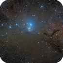 IC 348 in Perseus - 36 hours of HaLRGB from Les Granges,                                Steve Milne