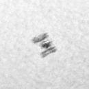 The ISS crossing the Sun - Sunspots AR2816 and AR2817,                                Jérémie