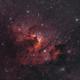 Sh2-155 la nébuleuse de la cave HOO,                                astromat89